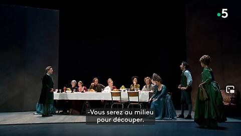 """""""Une des dernières soirées de Carnaval"""", Goldoni,  Hervieu-Léger (Captation intégrale)"""