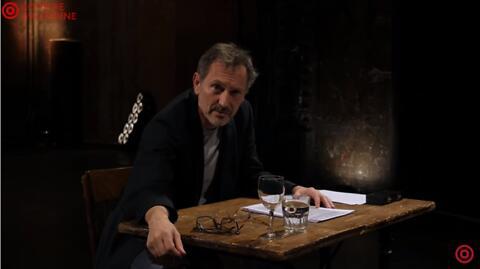 """Théâtre à la table - """"Vivons heureux en attendant la mort"""" - P. Desproges/A. Lenglet et C. Gonon"""