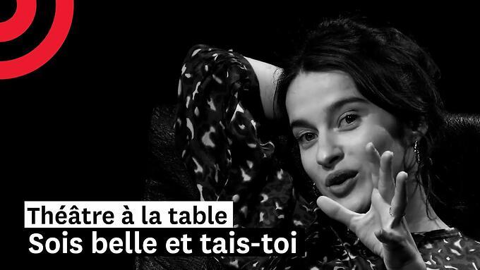 """Théâtre à la table - """"Sois belle et tais-toi"""" - Delphine Seyrig/Françoise Gillard (Comédie-française)"""
