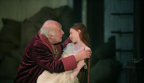 """""""Le Roi Lear"""",  William Shakespeare, André Engel avec Michel Piccoli (captation intégrale)"""