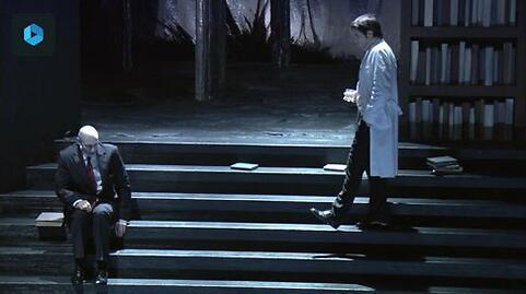 """""""Adagio (Mitterrand, le secret et la mort)"""" - Olivier Py (Captation intégrale - VOD)"""