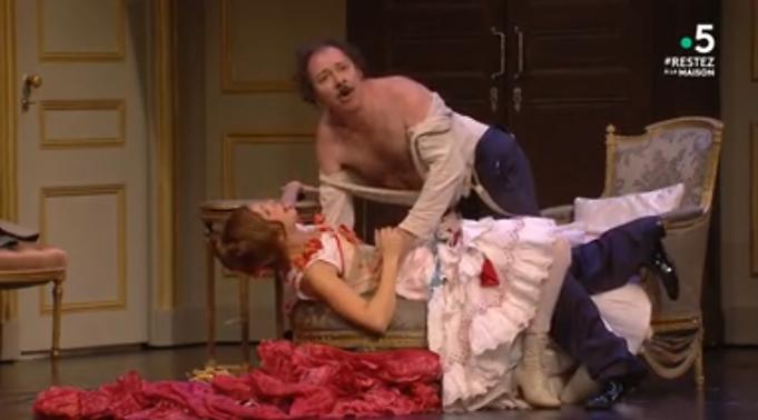 """""""Un fil à la patte"""", Georges Feydeau, Jérôme Deschamps (captation intégrale)"""