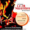 Accueil de « Le 20 Novembre »
