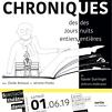 Accueil de « Chroniques des jours entiers, des nuits entières »