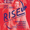 Image de spectacle RISE UP ! Femmes de la Beat Generation Performance poétique et musicale