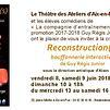 Accueil de « Reconstruction(s) »