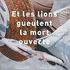 Accueil de « Et les lions gueulent la mort ouverte »