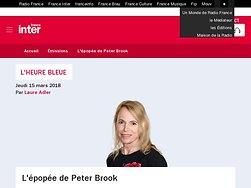 L épopée de Peter Brook