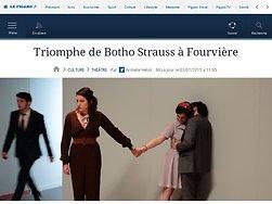 Triomphe de Botho Strauss à Fourvière