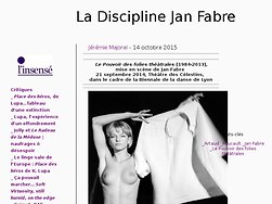 La Discipline Jan Fabre
