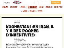 «En Iran, il y a des poches d'inventivité»
