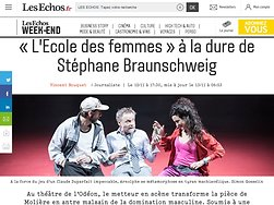 «L'Ecole des femmes» à la dure de Stéphane Braunschweig
