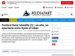 Festival Sens Interdits (1) : un site, un spectacle entre Syrie et Liban