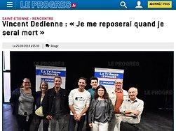 Vincent Dedienne : « Je me reposerai quand je serai mort »