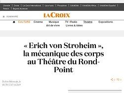 « Erich von Stroheim », la mécanique des corps