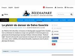 Le plaisir de danser de Salva Sanchis
