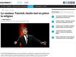 Le conteur Yannick Jaulin met en pièce la religion