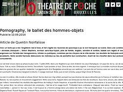 Le ballet des hommes-objets