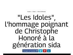 """""""Les Idoles"""", l'hommage poignant de Christophe Honoré à la génération sida"""