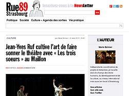 Jean-Yves Ruf cultive l'art de faire sonner le théâtre