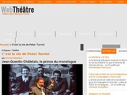 Jean-Quentin Châtelain, le prince du monologue