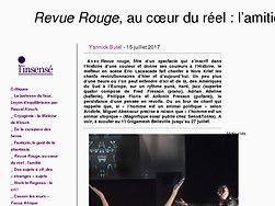 Revue Rouge, au cœur du réel : l'amitié.