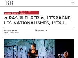 «Pas pleurer», l'Espagne, les nationalismes, l'exil