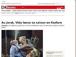 Au Jorat, Vidy lance sa saison en fanfare