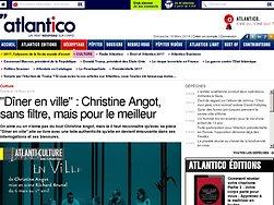 """""""Dîner en ville"""" : Christine Angot, sans filtre, mais pour le meilleur"""