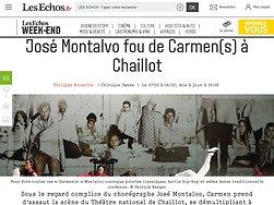 José Montalvo fou de Carmen(s) à Chaillot