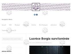 Lucrèce Borgia survitaminée