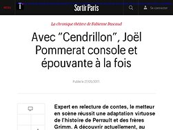 """Avec """"Cendrillon"""", Joël Pommerat console et épouvante à la fois"""