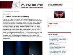 Et Corneille convoqua Houellebecq