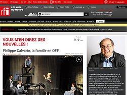 Philippe Calvario, la famille en OFF