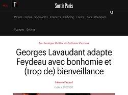 Georges Lavaudant adapte Feydeau avec bonhomie et (trop de) bienveillance
