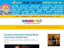 """Christiane Cohendy et Clotilde Mollet dans """"De si tendres liens de Loleh Bellon"""""""