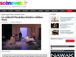 Le collectif Moukden-théâtre célèbre Paris