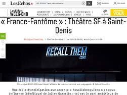 «France-Fantôme»: Théâtre SF à Saint-Denis