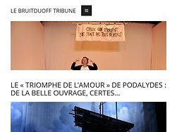 """""""Le Triomphe de l'amour"""", de la belle ouvrage certes..."""