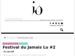 Festival du Jamais Lu #2