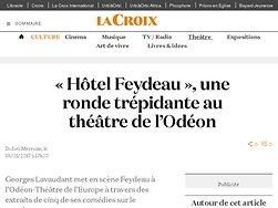 « Hôtel Feydeau », une ronde trépidante
