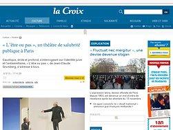 Un théâtre de salubrité publique à Paris