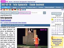 Folie Sganarelle de Claude Buchvald