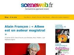Alain Françon : « Albee est un auteur magistral »