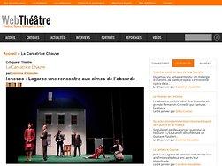 Ionesco / Lagarce une rencontre aux cimes de l'absurde