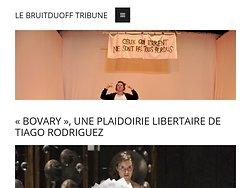 «Bovary», Une plaidoirie libertaire de Tiago Rodrigues