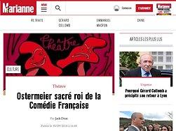 Ostermeier sacré roi de la Comédie Française