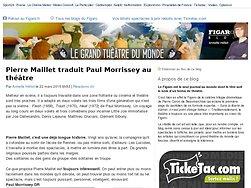 Pierre Maillet traduit Paul Morrissey au théâtre