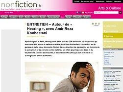 Entretien : Autour de « Hearing », avec Amir Reza Koohestani