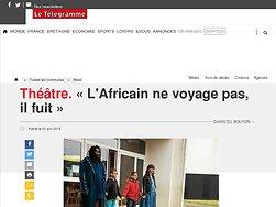 L'Africain ne voyage pas, il fuit